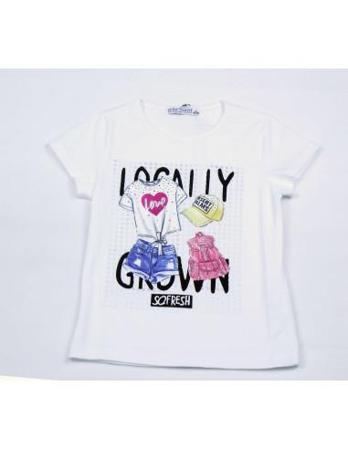Comprar ropa bebe Camiseta manga corta boutique niña