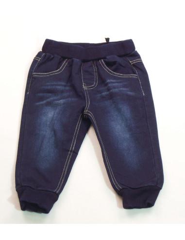 Pantalón con goma bebé niño