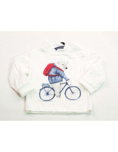 Comprar ropa bebe Camiseta oso bebé niño