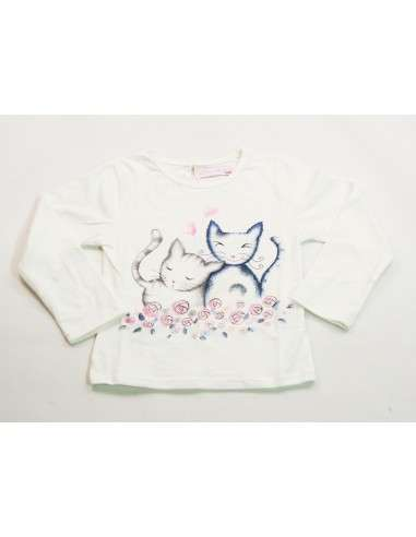 Comprar ropa bebe Camiseta gatitos bebé niña