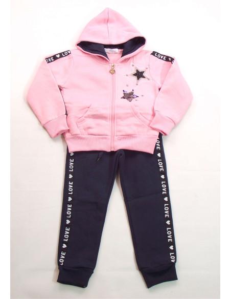 Comprar ropa bebe Chandal estrellas niña
