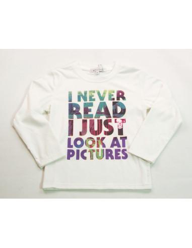 Comprar ropa bebe Camiseta manga larga letras niño