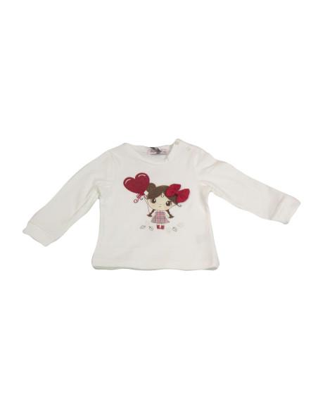 Comprar ropa bebe Camiseta muñeca corazón bebé niña
