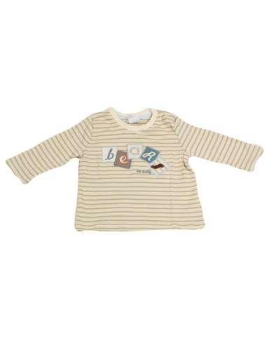 Comprar ropa bebe Camiseta manga larga rayas bebé niño