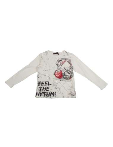 Comprar ropa bebe Camiseta manga larga música niño