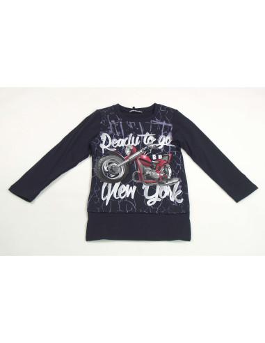 Comprar ropa bebe Camiseta larga moto niño