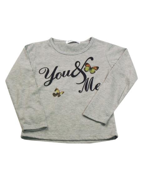 Comprar ropa bebe Camiseta manga larga You niña