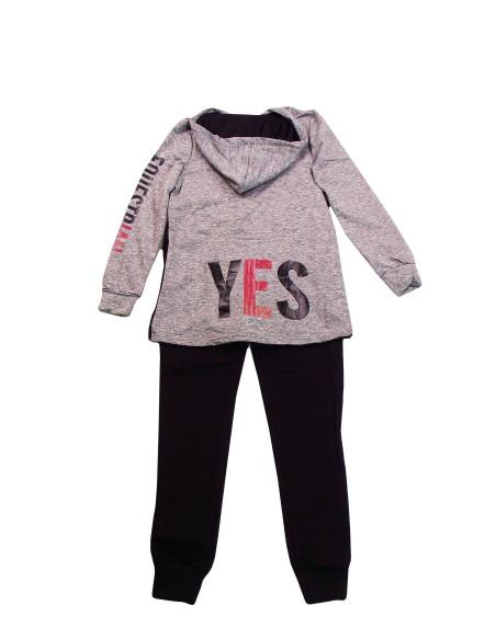Comprar ropa bebe Chandal con capucha Yes niña