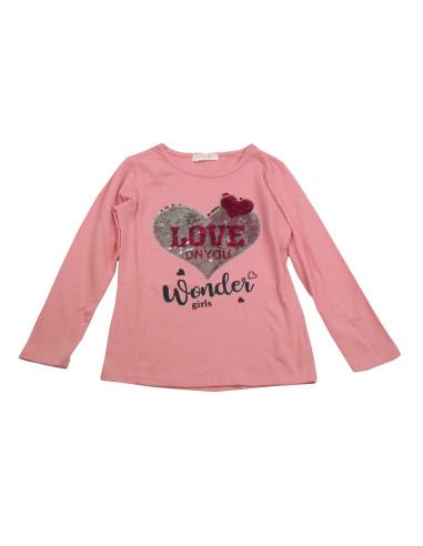 Comprar ropa bebe Camiseta manga larga onyou niña