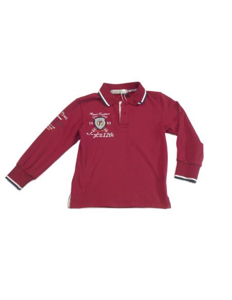 Comprar ropa bebe Polo manga larga logotipo niño