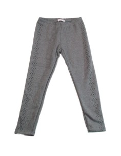 Leggings bandas strass niña