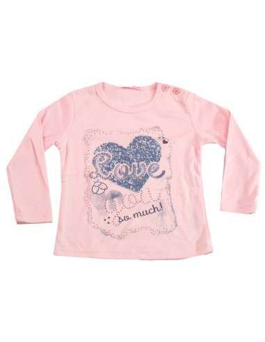 Comprar ropa bebe Camiseta manga larga you bebé niña