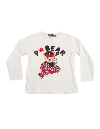 Comprar ropa bebe Camiseta manga larga oso bebé niño