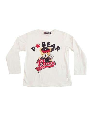 Ropa para bebe Camiseta manga larga oso bebé niño