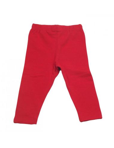Comprar ropa bebe Leggin largo rojo bebé niña