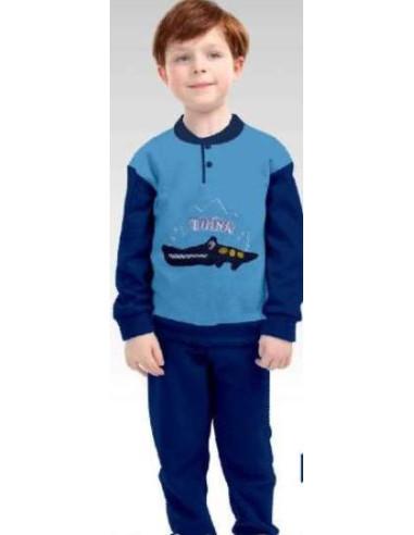 Comprar ropa bebe Pijama manga larga cocodrilo niño