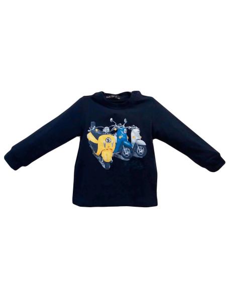 Comprar ropa bebe Camiseta manga larga vespa bebé niño