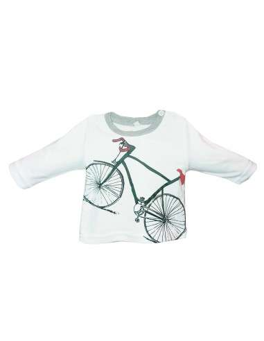 Comprar ropa bebe Camiseta manga larga bicicleta bebé niño