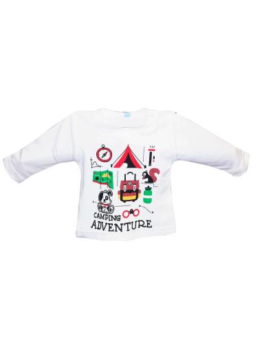 Comprar ropa bebe Camiseta manga larga aventura bebé niño
