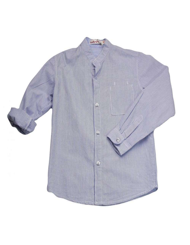 Ropa para bebe Camisa manga larga cuello mao niño