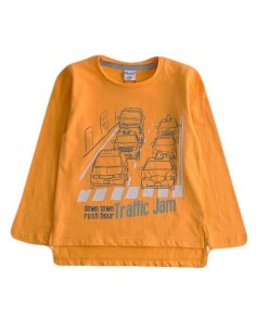 ropa bebe Camiseta manga larga traffic niño