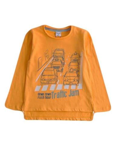 Comprar ropa bebe Camiseta manga larga traffic niño