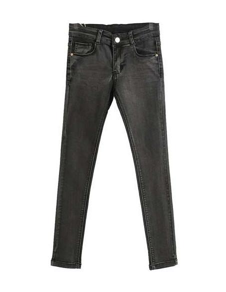 Comprar ropa bebe Pantalón largo vaquero negro niña