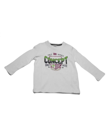 Ropa para bebe Camiseta manga larga letras niño
