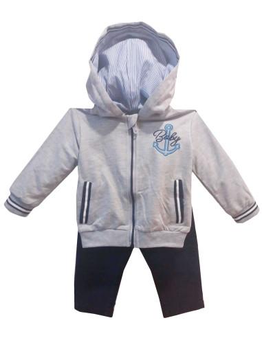 Comprar ropa bebe Conjunto sudadera fina sport bebé niño