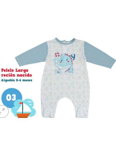 Ropa para bebe Pelele manga larga dragón recién nacido