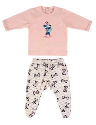 Comprar ropa bebe Conjunto dos piezas polaina minnie bebé niña