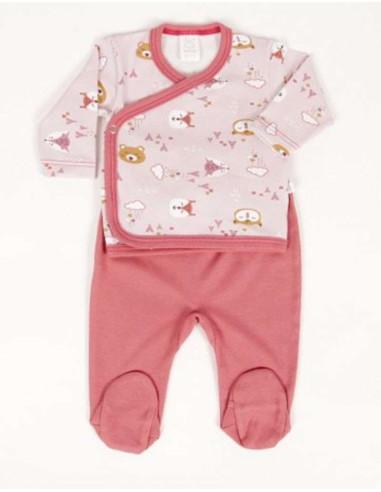 Comprar ropa bebe Conjunto polaina nuka primera puesta