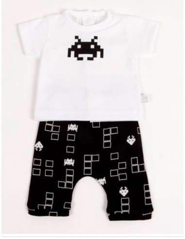 Comprar ropa bebe Conjunto pantalón pirata pacman bebé niño