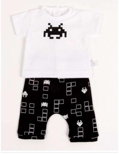 Ropa para bebe Conjunto pantalón pirata pacman bebé niño
