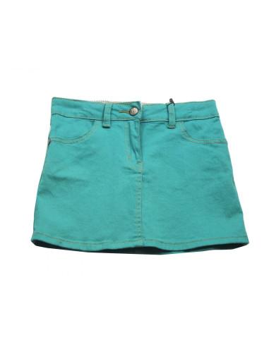 Comprar ropa bebe Falda corta verde niña