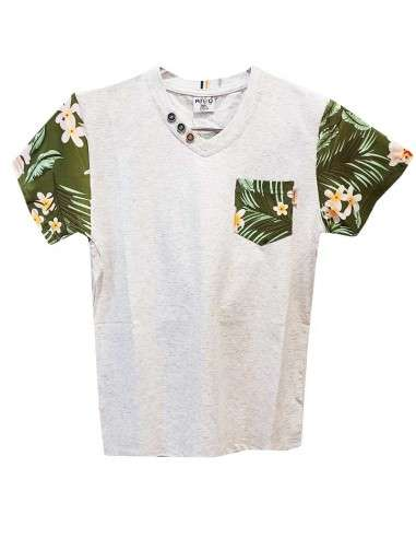 Ropa para bebe Camiseta manga corta con bolsillo niño