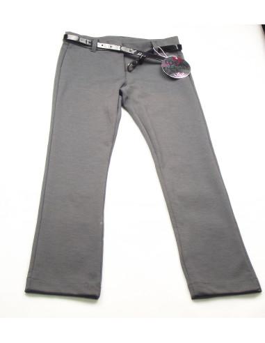 Comprar ropa bebe Pantalón largo con cinturón niña
