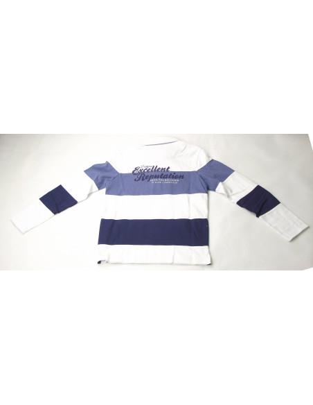 Comprar ropa bebe Polo manga larga rayas niño