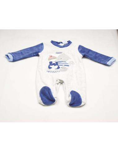 Ropa para bebe Pelele tundosado bebé niño