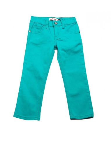 Comprar ropa bebe Pantalón verde agua niño
