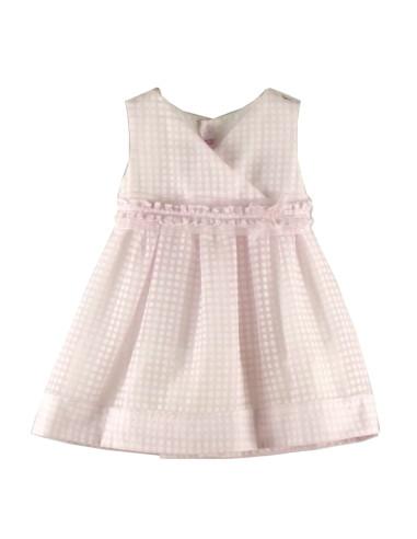 Ropa para bebe Vestido de ceremonia cuello cruzado bebé niña