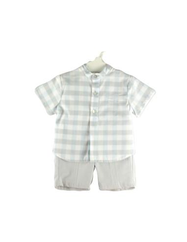 Ropa para bebe Conjunto camisa manga corta bebé niño