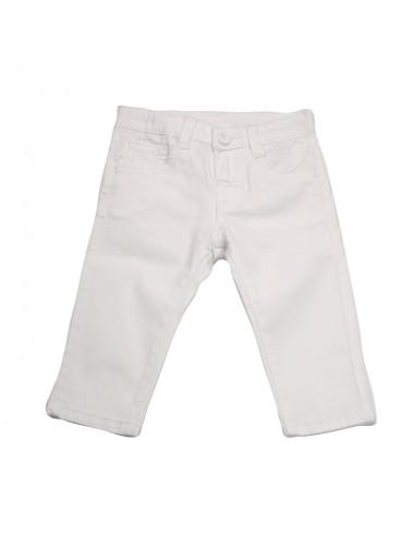 Ropa para bebe Pantalón largo blanco bebé niño