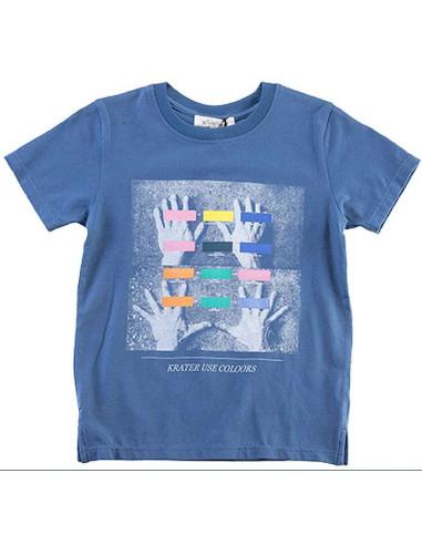Ropa para bebe Camiseta manga corta manos niño