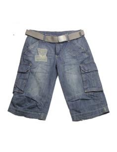 Comprar ropa bebe Bermuda niño tejano
