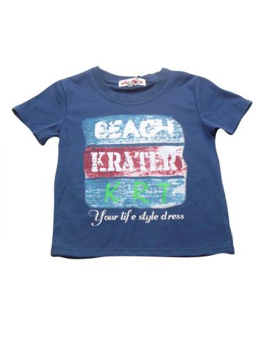 Ropa para bebe Camiseta manga corta beach niño