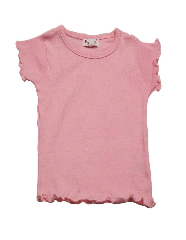 Ropa para bebe Camiseta básica rosa bebé niña
