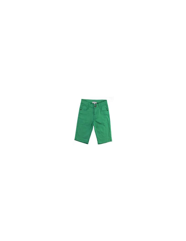 Ropa para bebe Bermuda verde niño
