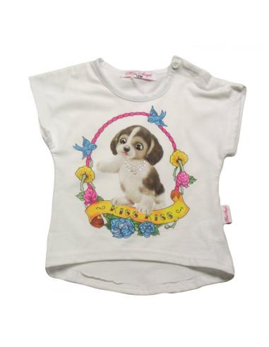 Ropa para bebe Camiseta perrito bebé niña