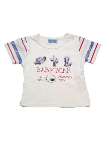 Ropa para bebe Camiseta manga corta baby bear bebé niño
